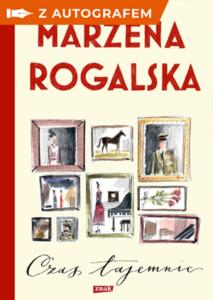 okładka książki Marzeny Rogalskiej Czas tajemnic