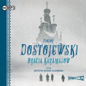 okładka audiobooka Fiodora Dostojewskiego Bracia Karamazow