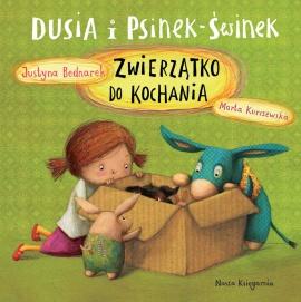 okładka książki Justyny Bednarek Zwierzątko do kochania
