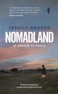 okładka książki Nomadland Jessici Bruder
