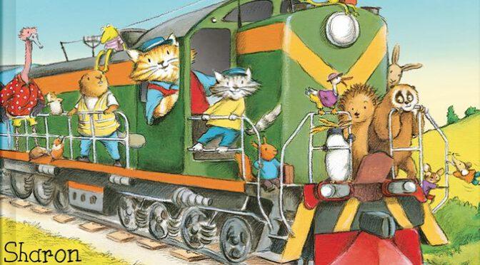 Wyruszamy pociągami z Kocurkami